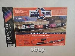 Lionel #6-11982 1998 New Jersey Transit Ready To Run Train Set Mint In Box