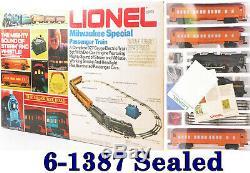 Lionel 6-1387 Spéciale Milwaukee Ready-to-run Pass. Kit De Démarrage 1973 C10 Scellé