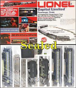 Lionel 6-1587 Billet Prêt À L'emploi De B & O Capitol Ltd. Kit De Démarrage 1975 C10 Scellé