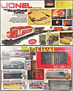 Lionel 6-1764 Set De Démarrage Prêt À L'emploi Heartland Express 1977 C10 Scellé
