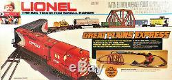 Lionel 6-1866 Set De Démarrage Prêt À Fonctionner Great Plains Express 1978 Scellé C10