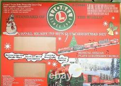 Lionel 6-21944 Prêt À Courir 0-27 Ensemble De Trains De Noël