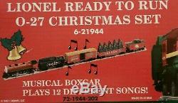 Lionel 6-21944 Prêt À L'emploi 0-27 Set De Noël