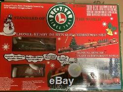 Lionel 6-21944 Prêt À L'emploi 0-27 Set De Noël Avec Extra Tracks