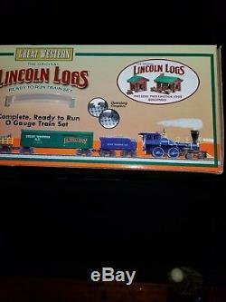 Lionel 6-30106 Des Bûcherons Lincoln Prêts À Fonctionner, Ensemble De Train Jauge En O, Neufs
