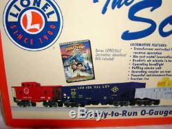 Lionel 6-30127 Ensemble De Train Scout Mib O 027 Nouveau Sifflet À Fumée 2012 Prêt À Fonctionner