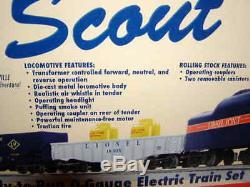 Lionel 6-30127 Ensemble De Train Scout Mib O 027 Nouveau Sifflet À Fumée Prêt À Fonctionner Pour 2012