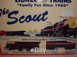 Lionel 6-30127 Le Scout Train Mib O 027 Nouveau Prêt À 2012 Run Smoke Whistle