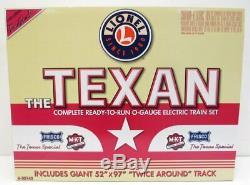 Lionel 6-30142 Le Set Texan Prêt À Fonctionner Avec Nib 5 Voitures Aa Aa Diesel