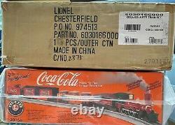 Lionel 6-30166 Coca-cola Ensemble De Vapeur Vintage Prêt À L'emploi