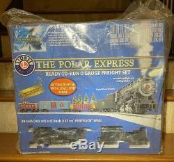 Lionel 6-30184 Nouveau Scellés Le Polar Express O-gauge Prêt À Fonctionner Ensemble De Train