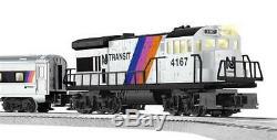 Lionel 6-30185 Nj Transit Prêt À Exécuter Limit Edition Maintenance De Passage Régl.nouv