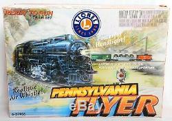 Lionel 6-31936 Pennsylvanie Flyer Ready To Run Set Train, Lot 328