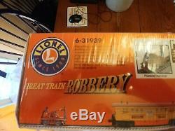Lionel 6-31939 Great Train Robbery Ready To Run Set Transformer Piste