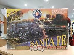 Lionel 6-31945 Santa Fe Super Fret Prêt À Fonctionner O-gauge Train Marque Nouveau