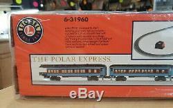 Lionel 6-31960 Le Polar Express Prêt À Fonctionner O-gauge Train Marque Nouveau