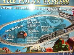 Lionel 6-31960 Polar Express Train De Voyageurs-ready To Run-o Jauge-nice Avec Boîte