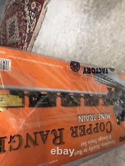 Lionel 6-31990 Range Copper Mine Train Prêt À Run Scellé En Usine Nouveau