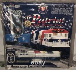 Lionel 6-82427 Le Patriot U36b Freight Train Ready-to-run O-gauge Remote Set