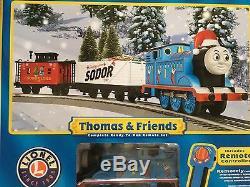 Lionel 6-83512 Thomas & Friends Christmas Ensemble De Fret Prêt À Fonctionner Lionechieft