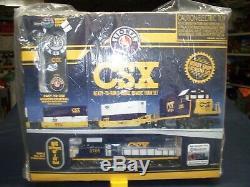 Lionel # 6-83974 Csx Prêt-à-run O-gauge À Distance Train Nouveau Scellés Set