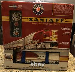 Lionel 6-84719 Santa Fe Super Chef Lionchief Prêt À Courir Train Set Withbluetooth