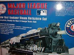 Lionel 7-12000 Yankees De New York Prêt À Fonctionner Coffret Train À Vapeur Pour Voyageurs O-27 2013