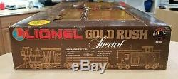 Lionel 8-81000 Ruée Vers L'or Prêt Spécial Pour Exécuter À Grande Échelle Train Marque Nouveau