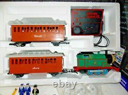 Lionel 8-81011 Thomas And Friends Train Set In Large G Scale. Prêt À Courir