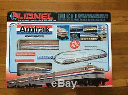 Lionel Amtrak Complet Train Prêt À Exécuter L'installation 6-11748 Nouvelle Nib