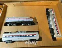 Lionel Amtrak Train Set O-27 Gauge Prêt À Courir