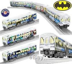 Lionel Batman DC Comics Set De Métro M7 Prêt À Fonctionner M7 Nouveau Livraison Gratuite