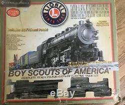 Lionel Boy Scouts Of America Coffret De Train Pour Jauge En O Prêt À Fonctionner - État Neuf 0-8-0