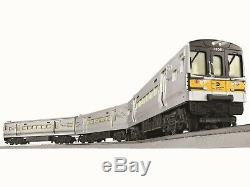 Lionel Chars 6-82192 Mta Lirr M7 LC Set Withblue Dents Prêt À Fonctionner Train