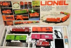 Lionel Coca Cola Diesel Set De Commutateur Avec 4 Voitures Prete A Courir 6-1463