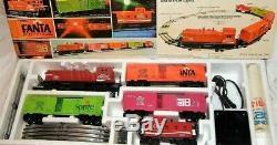 Lionel Coca Cola Diesel Switcher Set Prêt À Voitures Avec Ses 4 Run 6-1463