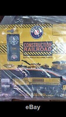 Lionel Construction Railroad Le Lion Chief Est Prêt À Se Lancer