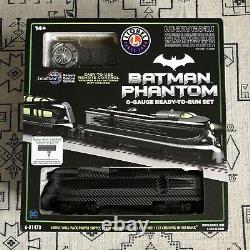 Lionel DC Batman Phantom Train Set O Gauge Prêt À Courir Set