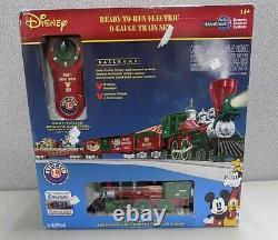 Lionel Disney Christmas Lionchief Prêt À Exécuter O-gauge Train Set Niob