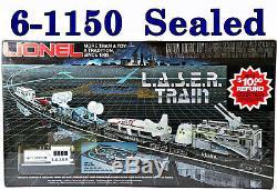 Lionel Ensemble De Départ Prêt À Fonctionner Pour Train Laser 6-1150 1981 C10 Scellé