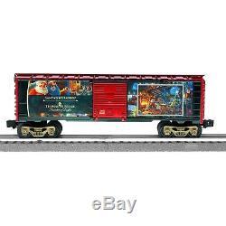 Lionel Forme Le Coffret De Train Lionchief Avec Bluet De Thomas Kinkade Pour Noël