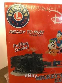 Lionel Mickeys Coffret De Train De Noël Express 6-31946 Animé Prêt À Fonctionner Nos