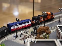 Lionel New Haven Set De Train Rs-3 Lion Chief Prêt À Fonctionner