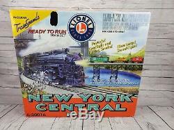 Lionel New York Central Circulaire - Ensemble De Train Prêt À Fonctionner Série 0