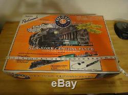 Lionel New York Central Flyer Complete Set De Train À L'échelle 0-27 Prêt À Fonctionner 6-31914