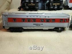 Lionel O27 6-11739 Santa Fe Locomotive Diesel Train De Voyageurs Prêt À Fonctionner