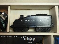 Lionel O/027 #19500 Ensemble De Trains Prêts À Courir État Excellent Pour Le Nettoyage De Noël