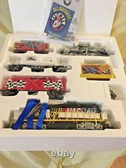 Lionel O Gauge Nascar Set De Train Prêt À Rouler Avec Train Sounds Nouveaut En Box