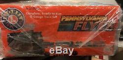 Lionel O Gauge Prêt À Fonctionner Pennsylvanie Flyer Train Set # 6-31936 Scellé En Usine