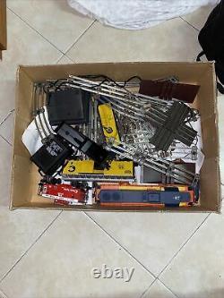 Lionel O Gauge Train Chessie Diesel Freight Set-complete-ready À Courir